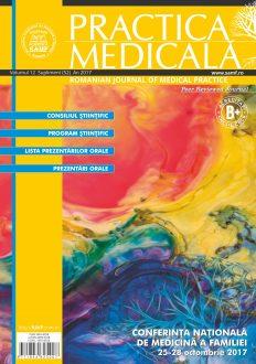 Revista Practica Medicala, Vol. XII, Nr. S (52), 2017