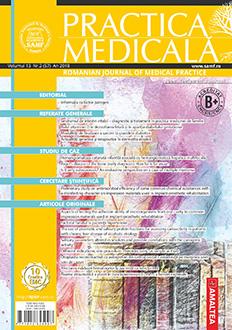 Revista Practica Medicala, Vol. XIII, Nr. 2 (57), 2018