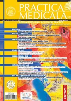 Revista Practica Medicala, Vol. XIII, Nr. 4 (61), 2018