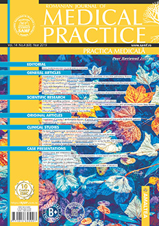 Romanian Journal of Medical Practice | Practica Medicala, Vol. XIV, No. 4 (69), 2019
