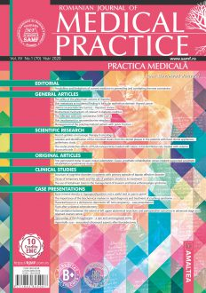 Romanian Journal of Medical Practice | Practica Medicala, Vol. XV, No. 1 (70), 2020
