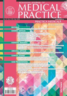 Romanian Journal of Medical Practice | Practica Medicala, Vol. XV, No. 1 (70), 2020