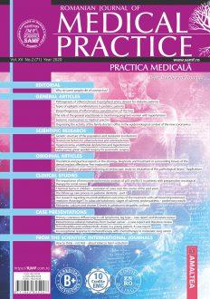 Romanian Journal of Medical Practice | Practica Medicala, Vol. XV, No. 2 (71), 2020