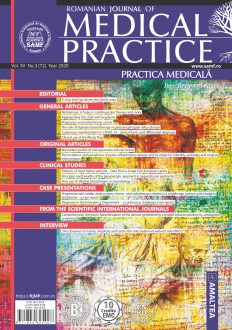 Romanian Journal of Medical Practice | Practica Medicala, Vol. XV, No. 3 (72), 2020