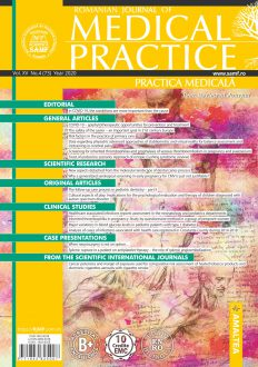 Romanian Journal of Medical Practice | Practica Medicala, Vol. XV, No. 4 (73), 2020