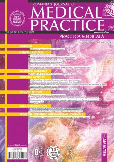 Romanian Journal of Medical Practice | Practica Medicala, Vol. XVI, No. 1 (75), 2021