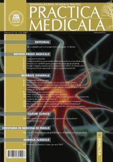 Romanian Journal of Medical Practice   Vol. II, No. 1 (5), 2007