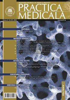 Romanian Journal of Medical Practice | Vol. III, No. 1 (9), 2008