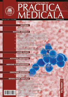 Romanian Journal of Medical Practice | Vol. IV, No. 1 (13), 2009