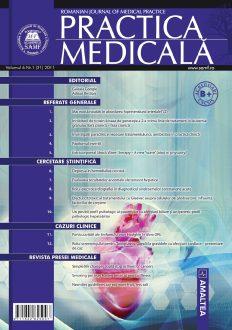 Romanian Journal of Medical Practice | Vol. VI, No. 1 (21), 2011