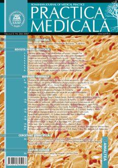 Romanian Journal of Medical Practice   Vol. II, No. 2 (6), 2007