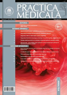 Romanian Journal of Medical Practice | Vol. VII, No. 2 (26), 2012