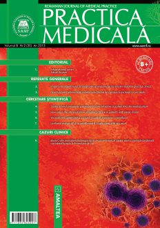 Romanian Journal of Medical Practice | Vol. VIII, No. 2 (30), 2013