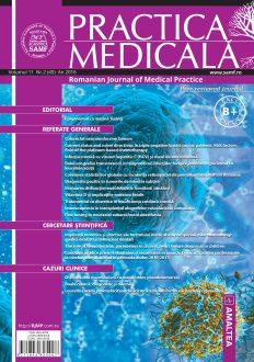 Romanian Journal of Medical Practice | Vol. XI, No. 2 (45), 2016