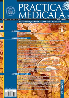 Romanian Journal of Medical Practice | Vol. XII, No. 2 (50), 2017