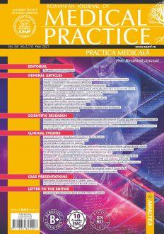 Romanian Journal of Medical Practice | Vol. XVI, No. 2 (77), 2021
