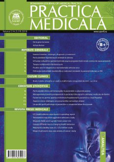 Romanian Journal of Medical Practice | Vol. V, No. 3 (19), 2010