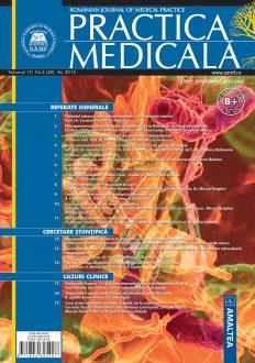 Romanian Journal of Medical Practice   Vol. X, No. 3 (40), 2015