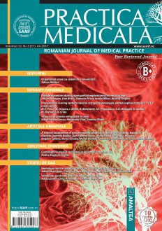 Romanian Journal of Medical Practice | Vol. XII, No. 3 (51), 2017