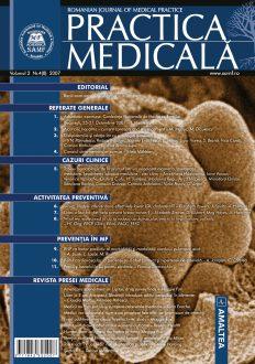 Romanian Journal of Medical Practice | Vol. II, No. 4 (8), 2007