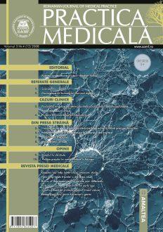 Romanian Journal of Medical Practice | Vol. III, No. 4 (12), 2008