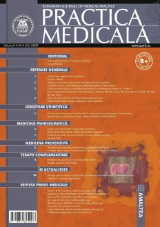 Romanian Journal of Medical Practice | Vol. IV, No. 4 (16), 2009
