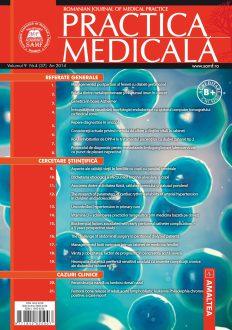 Romanian Journal of Medical Practice | Vol. IX, No. 4 (37), 2014
