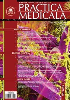 Romanian Journal of Medical Practice   Vol. X, No. 4 (42), 2015