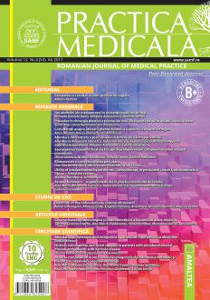 Romanian Journal of Medical Practice | Vol. XII, No. 4 (53), 2017