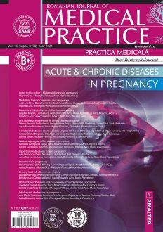 Romanian Journal of Medical Practice | Practica Medicala, Vol. XVI, Suppl. 3 (78), 2021