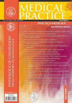 Romanian Journal of Medical Practice   Practica Medicala, Vol. XVI, Suppl. 4 (79), 2021
